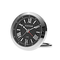 Thomas Earnshaw Quartz Silver-tone Table Clock