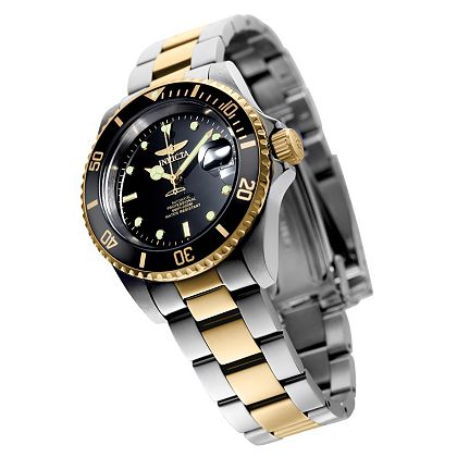 Free Shipping On Invicta Online Only - Ends Tomorrow 659-123 Invicta 40mm Pro Diver Automatic Stainless Steel Bracelet Watch