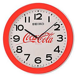 Seiko Quartz Coca-Cola Wall Clock