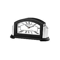 "Bulova Astor 9.75"" Quartz Bluetooth-Enabled Speaker Mantel Clock"