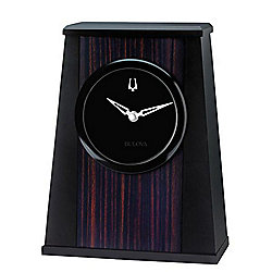 "Bulova Oblique 5.25"" Desk Clock"