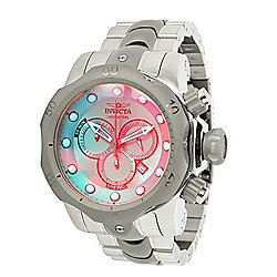 Invicta Men's 52mm Venom Tinted Crystal Quartz Chronograph Bracelet Watch
