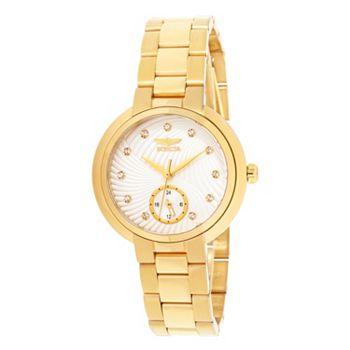 Women's Watches Under $100 - 673-891 Invicta Women's Angel Quartz Crystal Accented Stainless Steel Bracelet Watch - 673-891