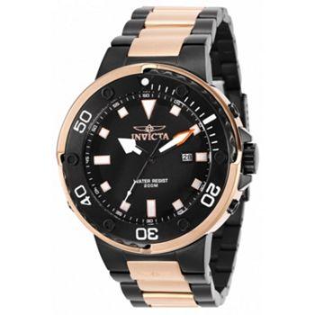 676-108 As Is Invicta Men's 48mm Grand Scuba Quartz Stainless Steel Bracelet Watch - 676-108