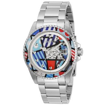 Customer Choice Starting at $27.41 - 676-605 Invicta Britto 38mm Limited Edition Quartz Stainless Steel Bracelet Watch - 676-605
