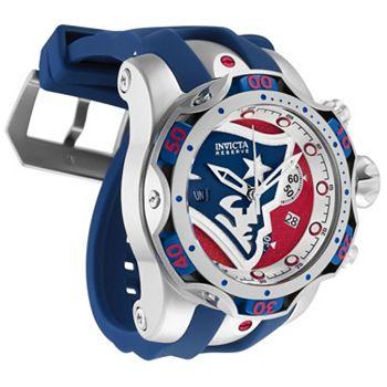 Gear Up Show Your Team Pride - 679-160 Invicta NFL 44mm or 52mm Venom Gen III Swiss Quartz Chronograph Strap Watch - 679-160