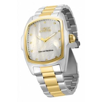 Invicta Top Rated Voted on by You - 679-494 Invicta Grand or Baby Lupah Quartz Diamond Accented Mother-of-Pearl Bracelet Watch - 679-494