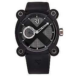 Romain Jerome 46mm Moon Invader Moon Dust DNA Swiss Made Automatic Rubber Strap Watch