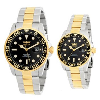 Customer Choice Watches Your Top Picks Up To 80% Off - 681-538 Invicta Set of 2 38mm & 42mm Pro Diver Quartz Stainless Steel Bracelet Watches - 681-538