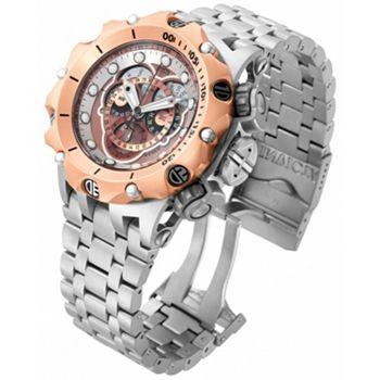 New Arrivals 682-355 Invicta Reserve Men's 52mm Venom Hybrid Swiss Quartz Chronograph Master Calendar Watch - 682-355