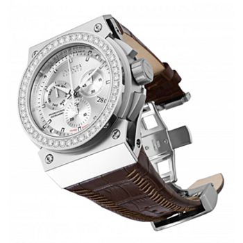 Invicta Reserve For the Few Who Know Best - 682-535 Invicta Reserve Men's 52mm Akula Limited Edition Swiss Quartz 3.80ctw Diamond Watch w Watch Roll - 682-535
