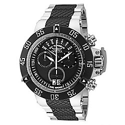 Invicta 50mm Subaqua Noma III Swiss Quartz Chronograph Day & Date Stainless Steel Bracelet Watch