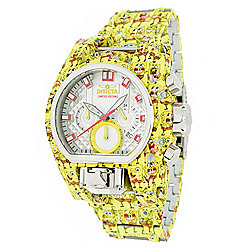 Invicta SpongeBob Men's 52mm Bolt Zeus Magnum Limited Edition Quartz Chronograph Bracelet Watch