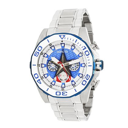 Invicta Collabs ft. Marvel 683-063 Invicta Marvel 48mm Limited Edition Quartz Chronograph Stainless Steel Bracelet Watch