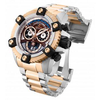 Shop New Timepieces Including Invicta - 683-352 Invicta Reserve Men's 63mm Grand Octane Swiss Quartz Chronograph Bracelet Watch - 683-352