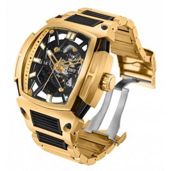 Invicta Unveiling Ft. Diablo Collection - 683-371 Invicta Men's 53mm Diablo Mechanical Automatic Skeletonized Watch w 15-Slot Dive Case - 683-371