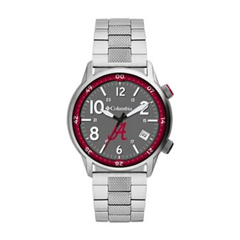 683-867 Columbia 42mm Outbacker Collegiate Quartz Stainless Steel Bracelet Watch - 683-867
