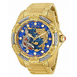 Invicta Men's 52mm Bolt Koi Automatic Stainless Steel Bracelet Watch