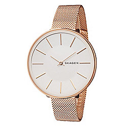 Skagen Women's Karolina Quartz Stainless Steel Mesh Bracelet Watch