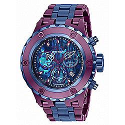 Invicta Reserve Men's 52mm Subaqua Specialty Swiss Quartz Chronograph Abalone Bracelet Watch