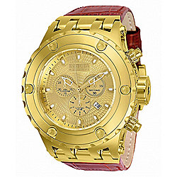 Invicta Reserve Men's 52mm Subaqua Specialty Swiss Quartz Chronograph Strap Watch