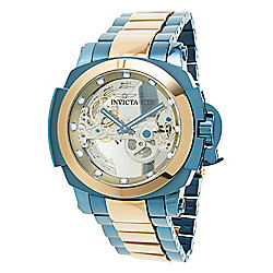Invicta 48mm Man of War Ghost Automatic Skeletonized Dial Bracelet Watch