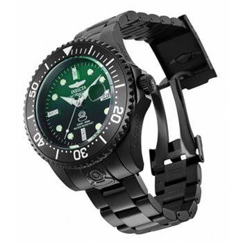 683-588 Invicta Men's 54mm Sea Monster Lume Quartz Chronograph Stainless Steel Bracelet Watch - 683-588