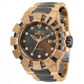 684-829 Invicta Men's 52mm Excursion Automatic Mother-of-Pearl Bracelet Watch - 684-829