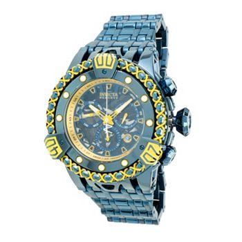 687-184 Invicta Reserve Men's 55mm ThermoGlow Swiss Quartz Chronograph Bracelet Watch - 687-184