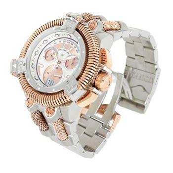 687-215 Invicta Reserve Men's 50mm King Python Swiss Quartz Chronograph Watch w 18-Slot Briefcase - 687-215