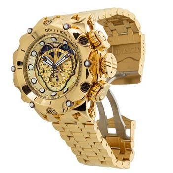 687-220 Invicta Reserve Men's 52mm Venom Hybrid Gold Label Swiss Quartz Chronograph Bracelet Watch - 687-220