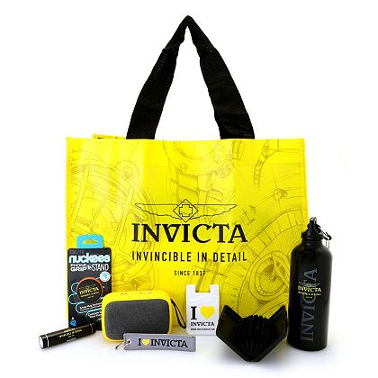 Web Exclusive Finds Items You Won't See On TV - 687-576 9-Piece Invicta Holiday Accessory Bundle
