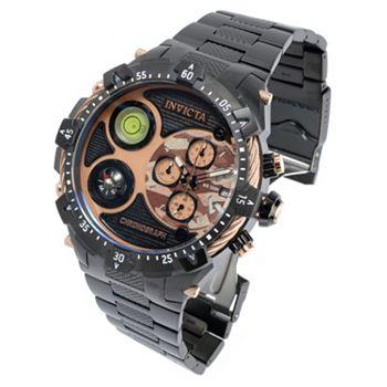 688-072 Invicta Men's 54mm Coalition Forces Military Survival Quartz Chronograph Bracelet Watch - 688-072