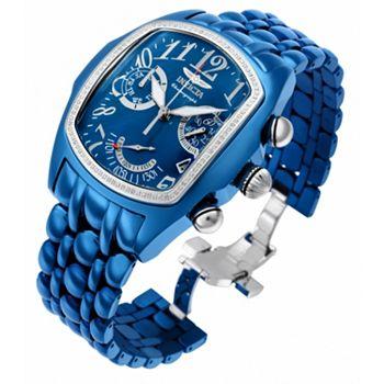 689-585 Invicta 45mm Dragon Grand Lupah 20th Anniversary Swiss Quartz 0.42ctw Diamond Watch - 689-585