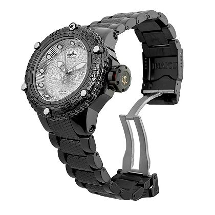 Lowest Prices Ever  New Items Added Daily - 689-808 Invicta Men's 52mm Subaqua Noma VI Automatic 1.81ctw Diamond Bracelet Watch