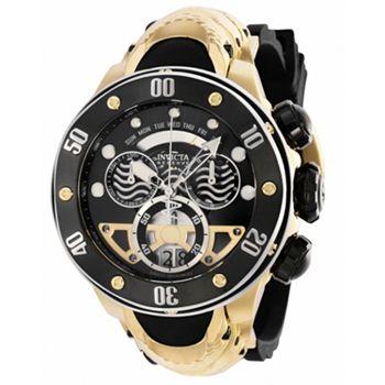 691-754 Invicta Reserve Kraken Men's 54mm Swiss Quartz Chronograph Silicone Strap Watch - 691-754