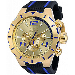 Invicta Men's 53mm S1 Rally Quartz Chronograph Silicone Strap Watch w/ Helmet