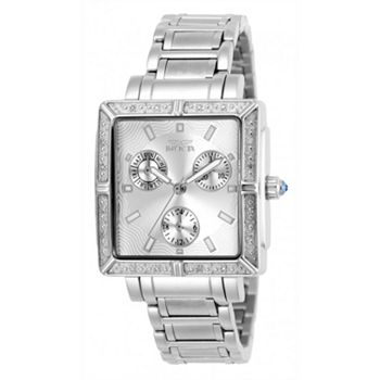 Invicta Diamond-Accented Dials Make Your First Impression Worth It - 692-390 Invicta Women's Wildflower Quartz Multi Function Diamond Accented Bracelet Watch - 692-390