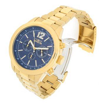 Dive Cases Included Tune in at 5pm ET - 692-485 Invicta 49mm Aviator Quartz Chronograph Bracelet Watch w 3-Slot Dive Case - 692-485