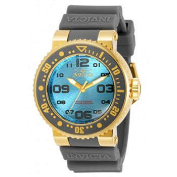 Invicta Pro Divers Tune in at 10pm ET - 693-296 INVICTA 40MM PRO DIVER OCEAN VOYAGE QUARTZ SILICONE STRAP WATCH - 693-296