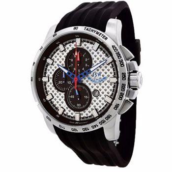 693-464 ISW Men's 50mm Swiss Made Quartz Chronograph Rubber Strap Watch - 693-464