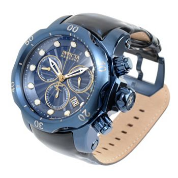 693-749 Invicta Reserve Men's 54mm Venom Blue Label Swiss Quartz Chronograph Strap Watch - 693-749