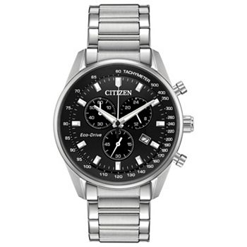 694-038 Citizen 40mm Brycen Eco-Drive Chronograph Stainless Steel Bracelet Watch - 694-038