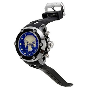 694-075 Invicta Marvel Men's 52mm Subaqua Carbon Limited Edition Quartz Chronograph Strap Watch - 694-075