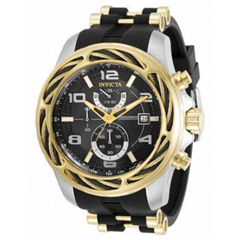 694-472 Invicta Men's 53mm Bolt Quartz Chronograph Silicone Strap Watch - 694-472
