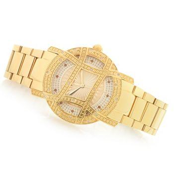 696-553 JBW 10-Year Anniversary Women's Olympia Quartz Diamond Accented Watch - 696-553