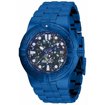 697-901 Invicta Men's 47mm or 55mm SAN I Automatic Mosaic Dial Bracelet Watch - 697-901