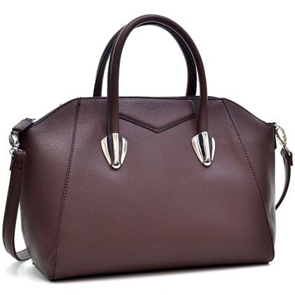 Daily Digital Deals Shop Hundreds Of Web Exclusives -  728-336 Dasein Caprice Faux Leather Weekender Bag w Strap