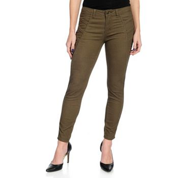 Pants - 735-109 Kate & Mallory® Stretch Twill 2-Pocket Piping Detail Slim Leg Pants - 735-109