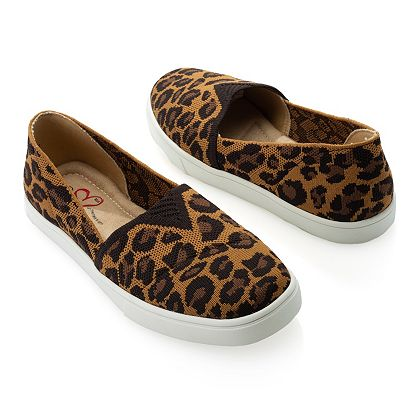 752-256 MIA Amore Marcello Fly Knit Slip-on Shoes